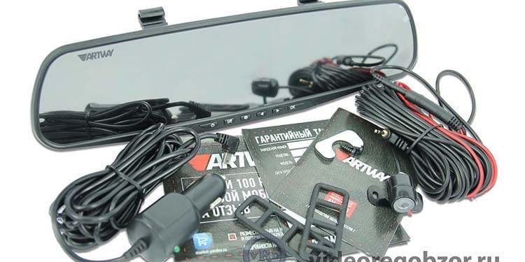 Обзор ARTWAY AV-600. Бюджетное 2-х канальное зеркало