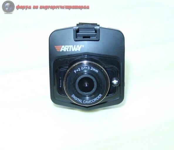 obzor byudzhetnogo videoregistratora artway av 513 14 593x512 - Обзор бюджетного видеорегистратора ARTWAY AV-513.