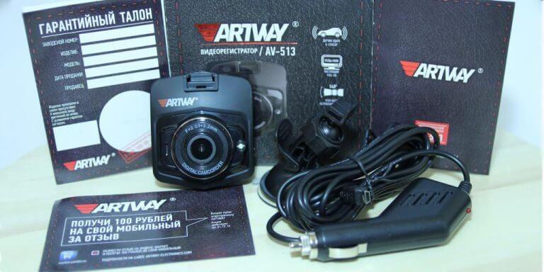 obzor byudzhetnogo videoregistratora artway av 513 2 768x384 - Обзор ARTWAY AV-620. Двухканальное зеркало FullHD