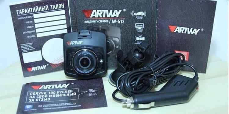 Обзор бюджетного видеорегистратора ARTWAY AV-513.