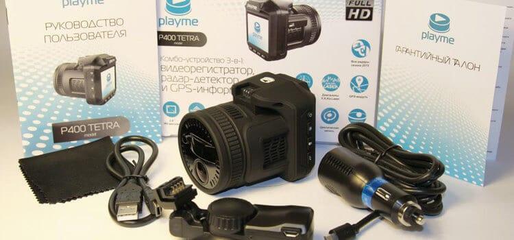 PlayMe P400 TETRA компактный комбайн в виде фотоаппарата.