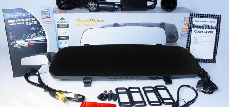 TrendVision MR 710GP Регистратор-зеркало. Нет предела совершенства