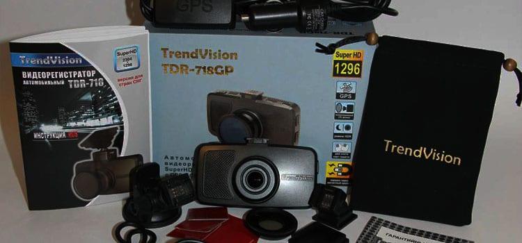 TrendVision TDR-718GP со SpeedCam что может быть лучше?