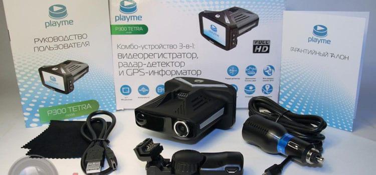 Видеорегистратор рада-детектор PlayMe P300 TETRA. Приятная неожиданность.