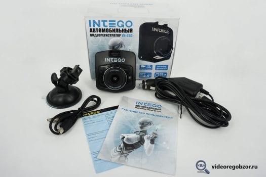 Обзор видеорегистратора INTEGO VX-295 до трёх тыс.