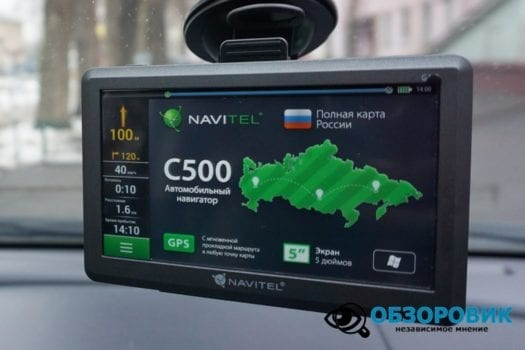 Обзор навигагора NAVITEL C500 25