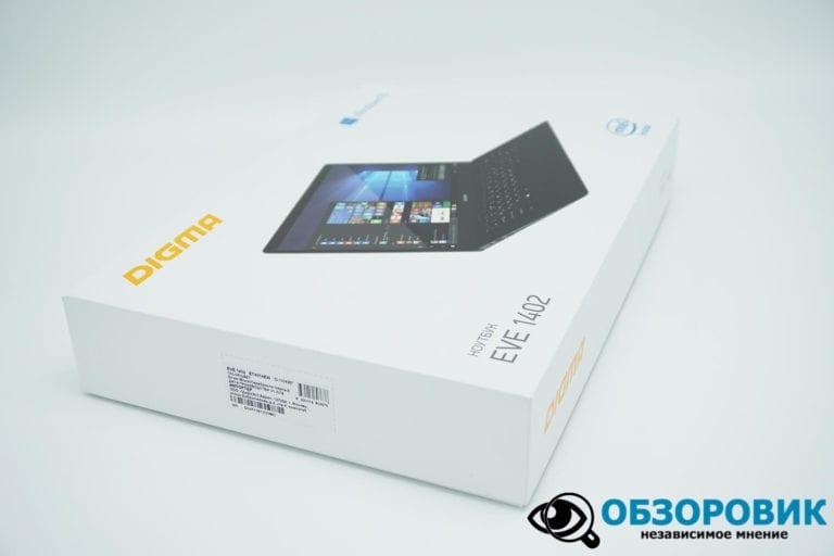 DSC05253 768x512 - Обзор бюджетного ноутбука Digma EVE 1402