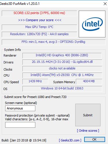 digma eve 1402 furemark test - Обзор бюджетного ноутбука Digma EVE 1402