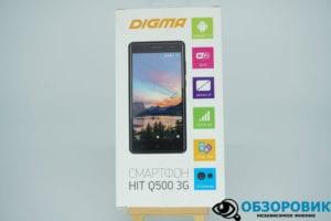 DSC05823 300x200 - Обзор смартфона DIGMA HIT Q500 3G