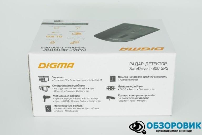 Digma SafeDrive T 800 GPS 13