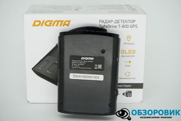 Digma SafeDrive T 800 GPS 24