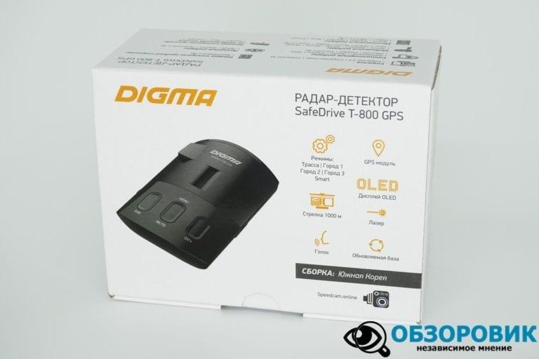 Digma SafeDrive T 800 GPS 9