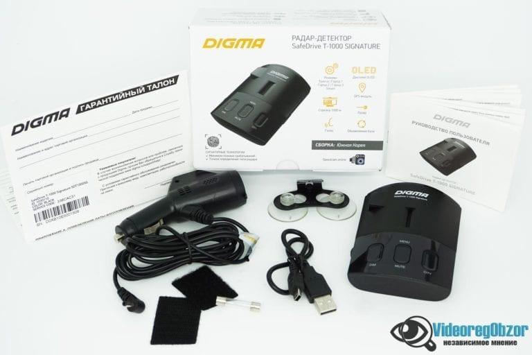 Digma SafeDrive T 1000 SIGNATURE 54