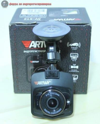 obzor byudzhetnogo videoregistratora artway av 513 13