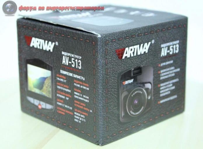 obzor byudzhetnogo videoregistratora artway av 513 16
