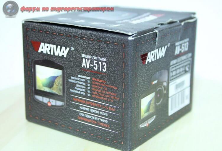 obzor byudzhetnogo videoregistratora artway av 513 30
