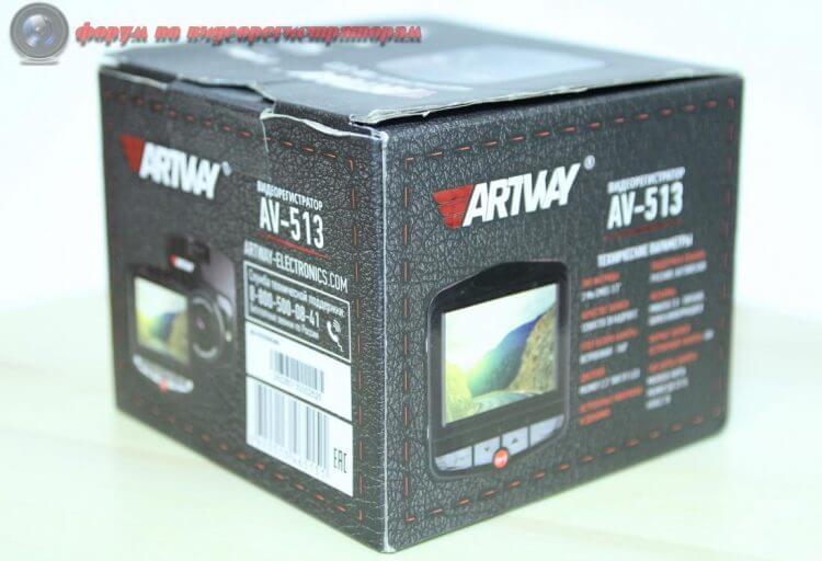 obzor byudzhetnogo videoregistratora artway av 513 33