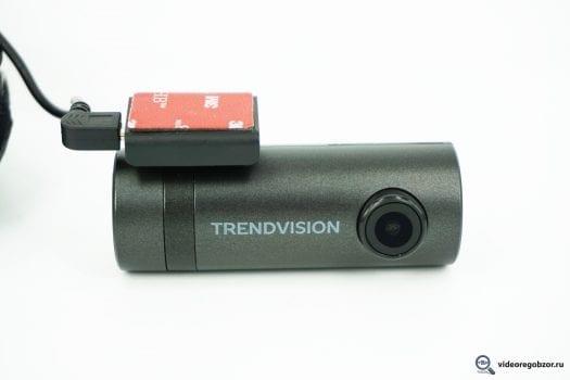 Обзор TrendVision TUBE. Регистратор с WiFi и SONY Exmor 21