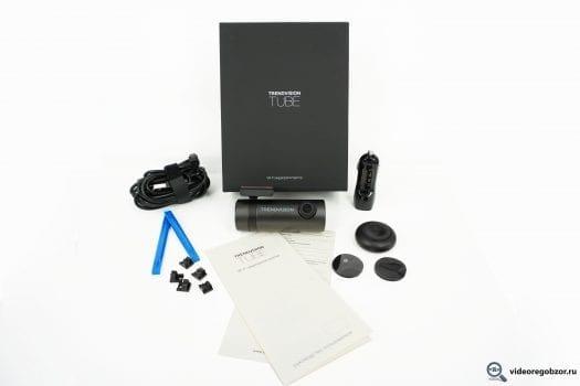 Обзор TrendVision TUBE. Регистратор с WiFi и SONY Exmor 3