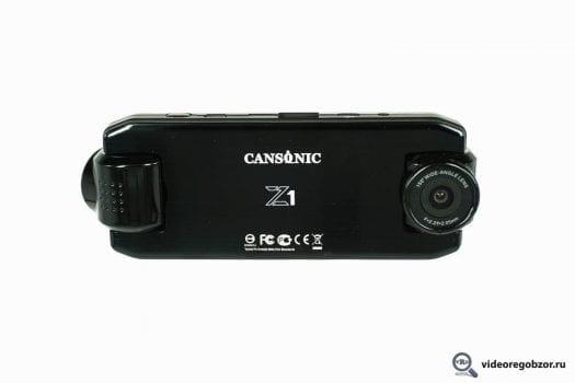 obzor unikalnogo 2 h kanalnogo registratora cansonic z1 zoom gps 10