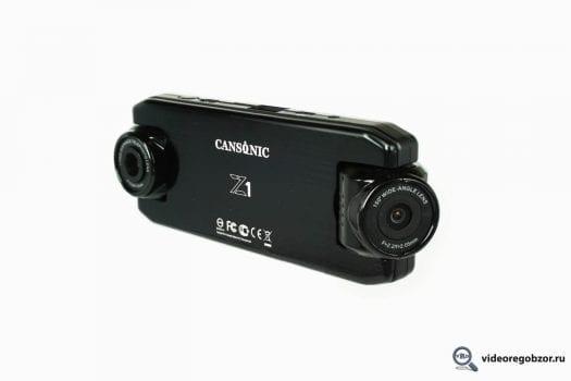obzor unikalnogo 2 h kanalnogo registratora cansonic z1 zoom gps 2