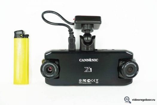 obzor unikalnogo 2 h kanalnogo registratora cansonic z1 zoom gps 29