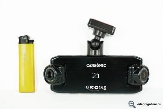 obzor unikalnogo 2 h kanalnogo registratora cansonic z1 zoom gps 30