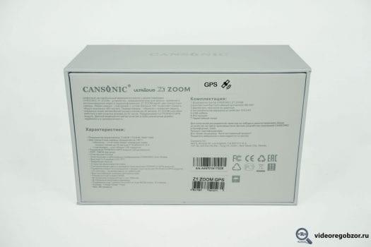 obzor unikalnogo 2 h kanalnogo registratora cansonic z1 zoom gps 31