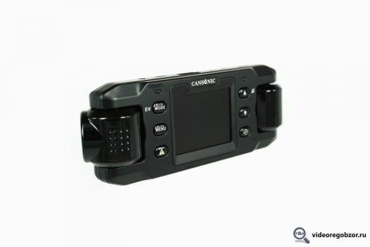 obzor unikalnogo 2 h kanalnogo registratora cansonic z1 zoom gps 4