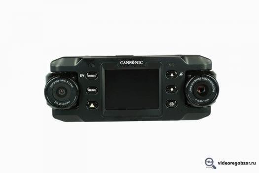 obzor unikalnogo 2 h kanalnogo registratora cansonic z1 zoom gps 5