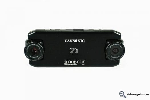 obzor unikalnogo 2 h kanalnogo registratora cansonic z1 zoom gps