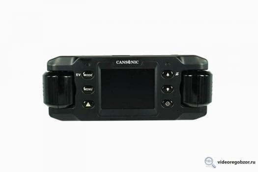 obzor unikalnogo 2 h kanalnogo registratora cansonic z1 zoom gps 6