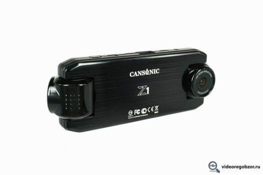 obzor unikalnogo 2 h kanalnogo registratora cansonic z1 zoom gps 9
