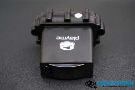Обзор разънесенного видеорегистратора с радар детектором PlayMe MAXI гибрид 17