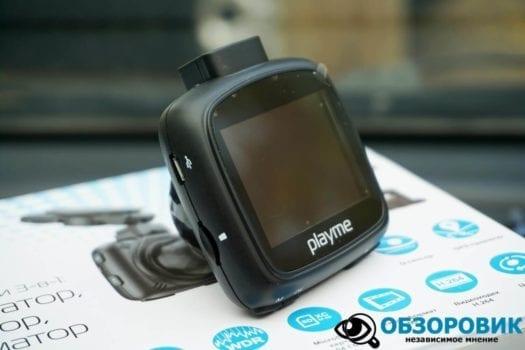 Обзор разънесенного видеорегистратора с радар детектором PlayMe MAXI гибрид 36
