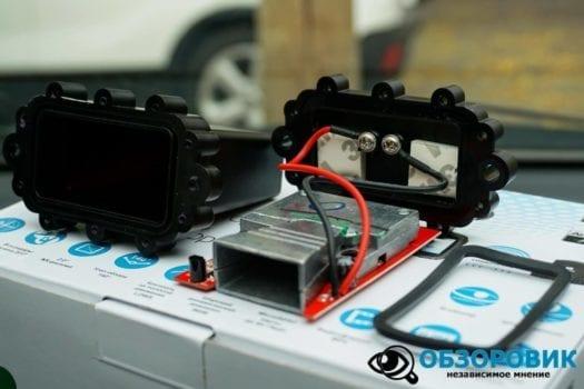 Обзор разънесенного видеорегистратора с радар детектором PlayMe MAXI гибрид 42