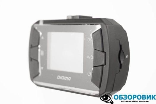 Обзор видеорегистратора Digma FreeDrive 105 11