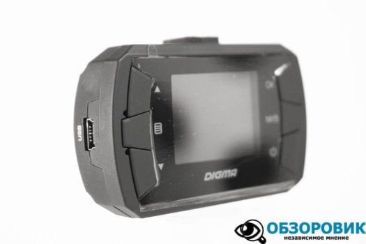 Обзор видеорегистратора Digma FreeDrive 105 9
