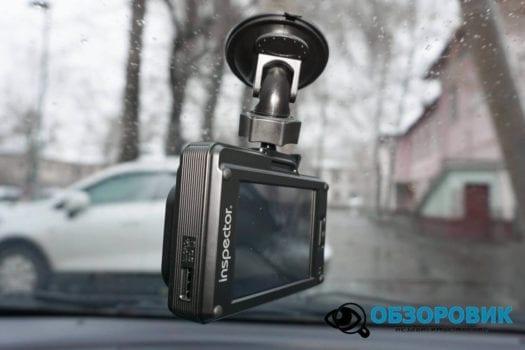 Обзор видеорегистратора радар детектора Inspector SCAT SE гибрид 26