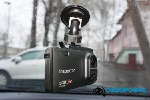 Обзор видеорегистратора радар детектора Inspector SCAT SE гибрид 28