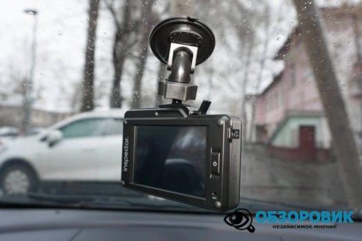 Обзор видеорегистратора радар детектора Inspector SCAT SE гибрид 30