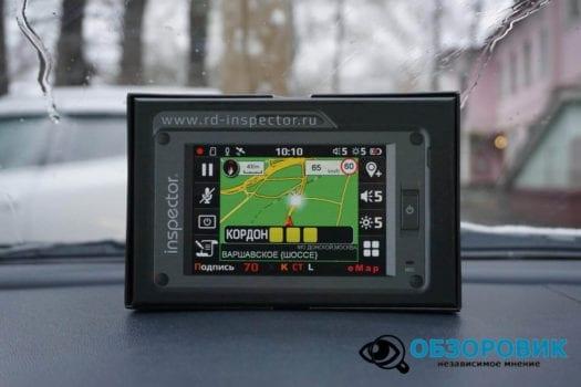 Обзор видеорегистратора радар детектора Inspector SCAT SE гибрид 5