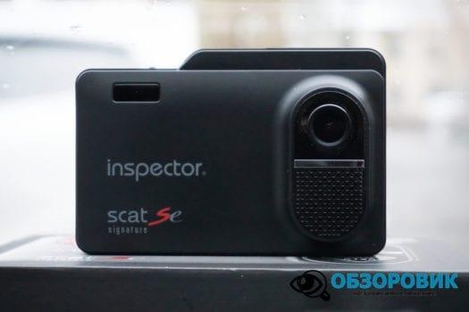 Обзор видеорегистратора радар детектора Inspector SCAT SE гибрид 6