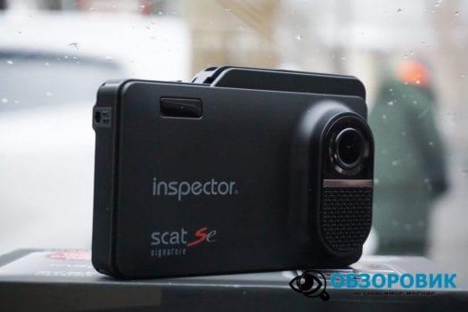 Обзор видеорегистратора радар детектора Inspector SCAT SE гибрид 8