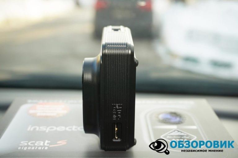 Obzor Inspector SCAT S 10 VideoregObzor Обзор комбо-устройства Inspector SCAT S.