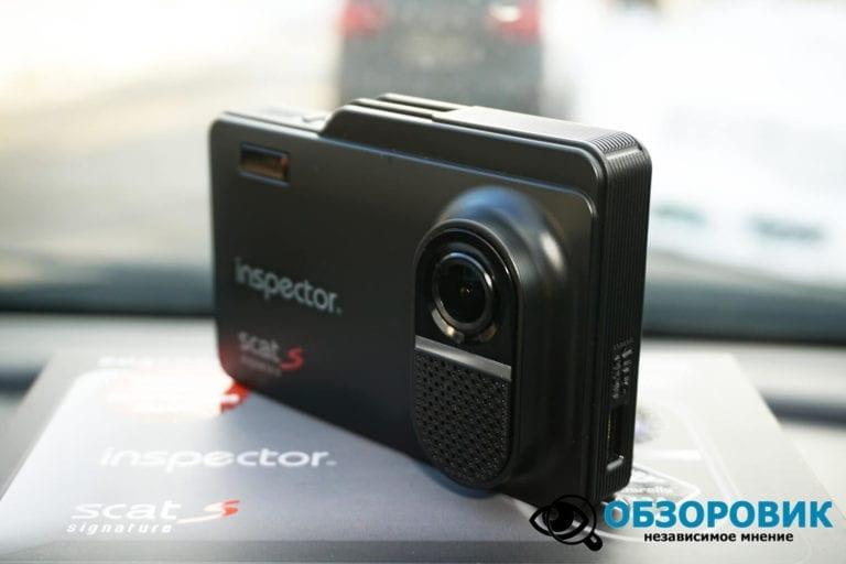 Obzor Inspector SCAT S 11 VideoregObzor Обзор комбо-устройства Inspector SCAT S.