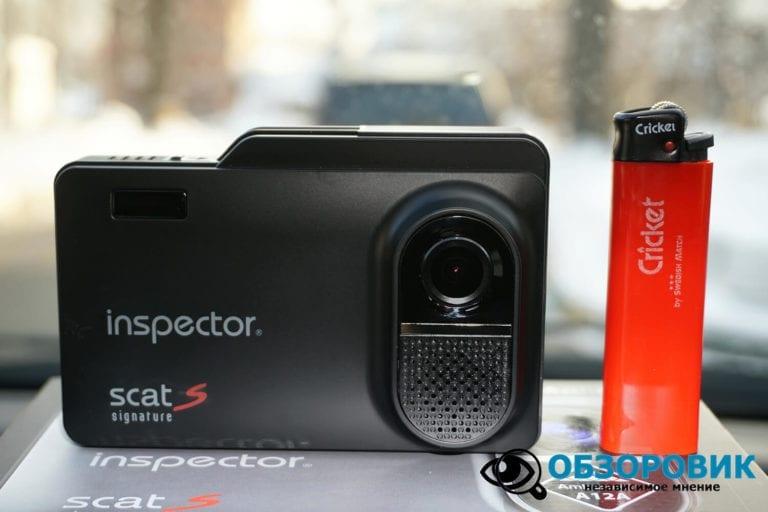 Obzor Inspector SCAT S 12 VideoregObzor Обзор комбо-устройства Inspector SCAT S.