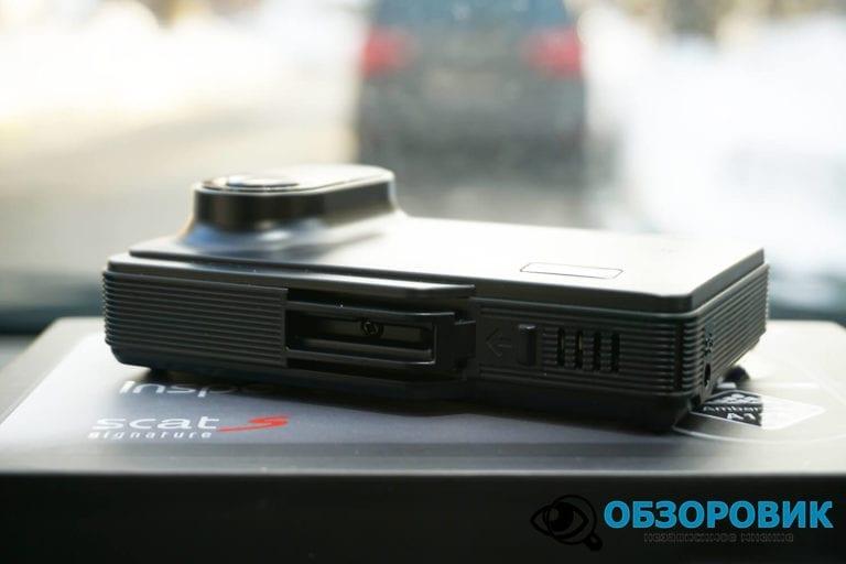 Obzor Inspector SCAT S 14 VideoregObzor Обзор комбо-устройства Inspector SCAT S.