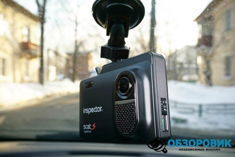 Obzor Inspector SCAT S 16 VideoregObzor Обзор комбо-устройства Inspector SCAT S.