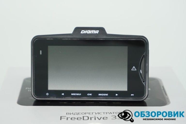DIGMA FREEDRIVE 330 17 VideoregObzor Обзор видеорегистратора Digma FreeDrive 330